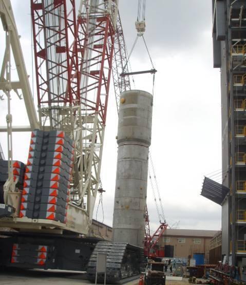CC8800, Demag 1600 ton crawler crane.