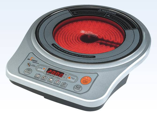 Infrared cooktops