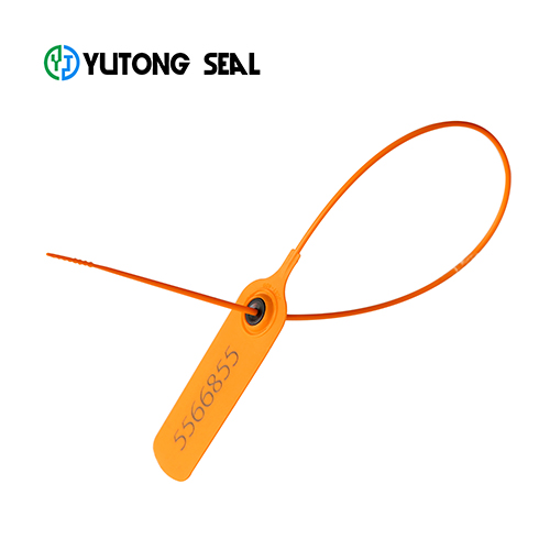 Pull tight security plastic truck seal with logo and serial number