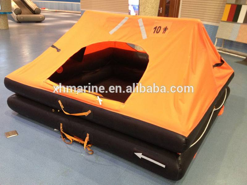 Marine offshore inflatable small craft yatch life raft
