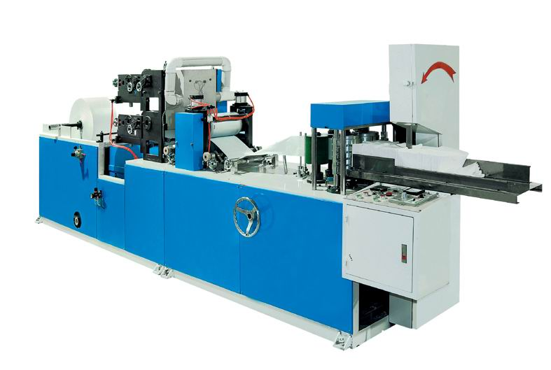 Aautomatic table napkin making/converting machine