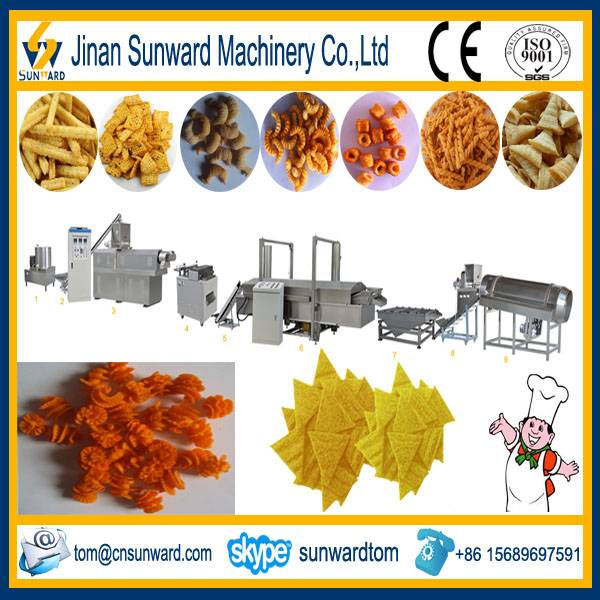 Automatic Fried Snack Food Extrusion Machine