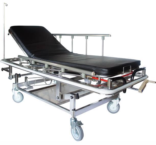 Emergency Stretcher Cart, Hospital, Trolley, Cart