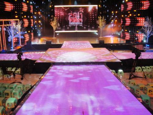 LED Video Floor - P25 - LED Floor Screen