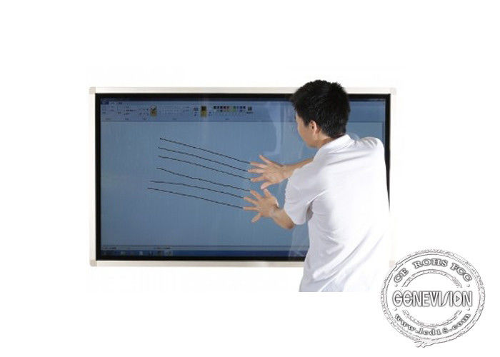 Lcd infrared multi touch screen computer monitor IPS HDMI USB VESA mount