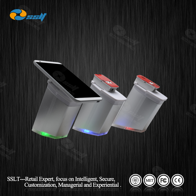 Mobile phone security alarm display stand