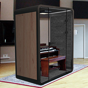 Acoustic Soundproof Booth for Piano Playing / Piano Room / Piano Practice Room