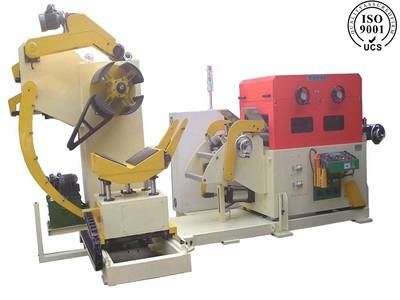 servo feeding straightening and uncoiling machine made in China