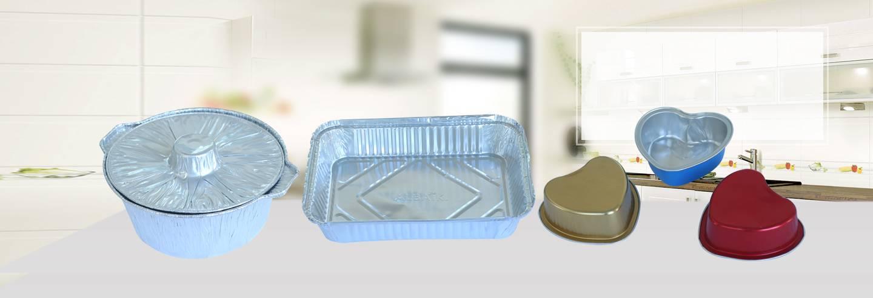 Aluminium foil roll container