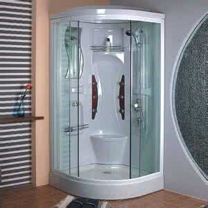 Fibreglass Sex Cabin Shower Cubicle 1000X800 Shower Room