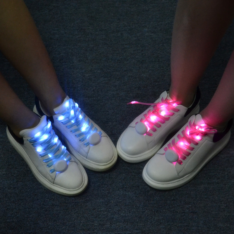 Flash Party Disco Light Up LED Charm Shoelace