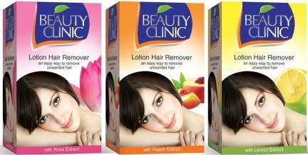 Beauty Clinic hair removing lotion