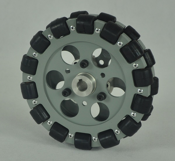 152.4mm omni robot wheel for intelligent robot platform in university lab