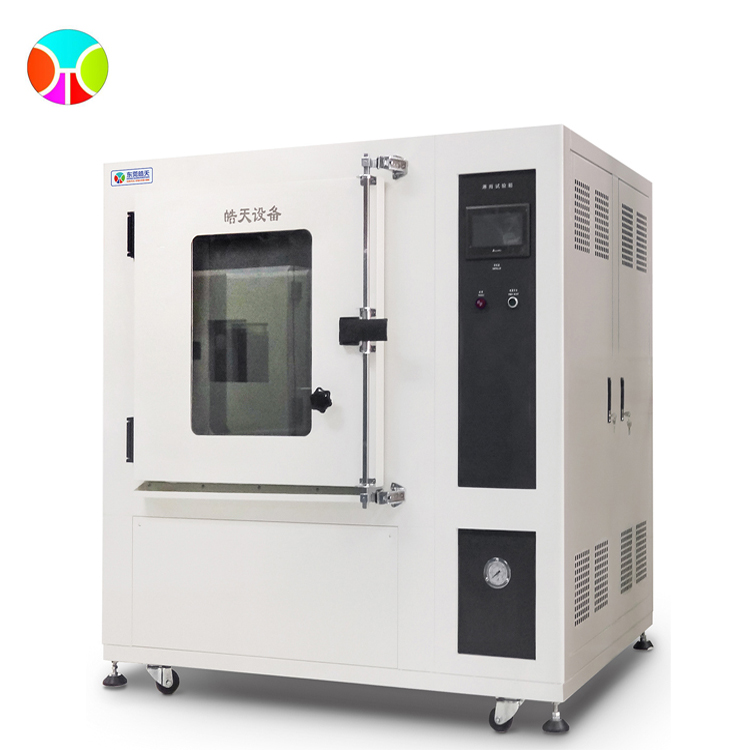 Rain proof test chambers for automobile lamp shell
