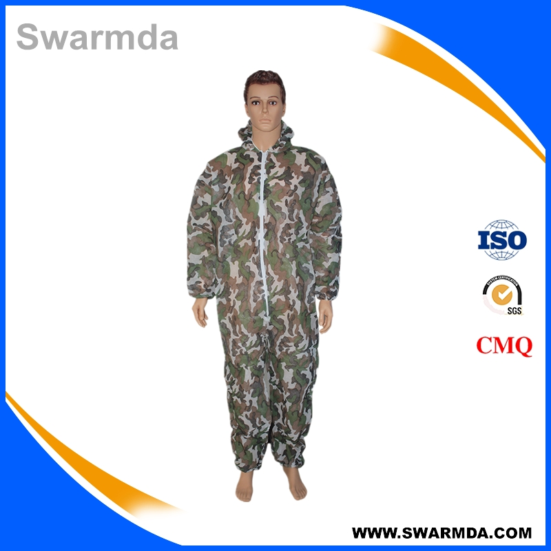 Disposable Nonwoven Camouflage Coverall