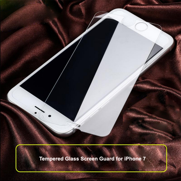 9H 2.5D 0.33mm mobile phone tempered glass screen protector for iphone 7