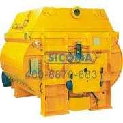 Sicoma Meo Economical Series Twin Shaft Compulsory Concrete Mixer