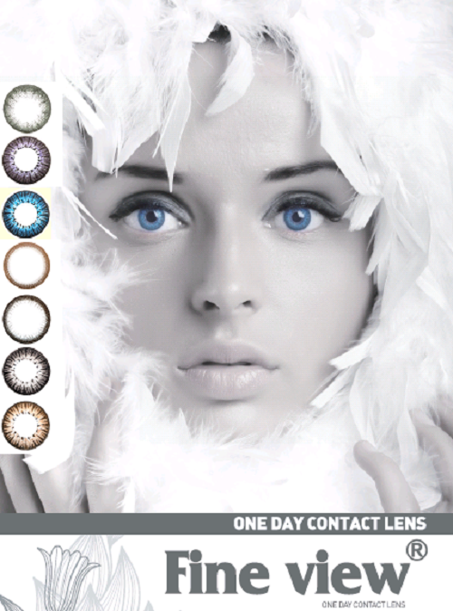1 Day Colored Contact Lens