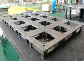 Fabricahtion and machining work for nuclear power equipment