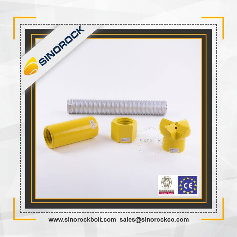 SINOROCK high quality Underground Mining self drilling rock bolts