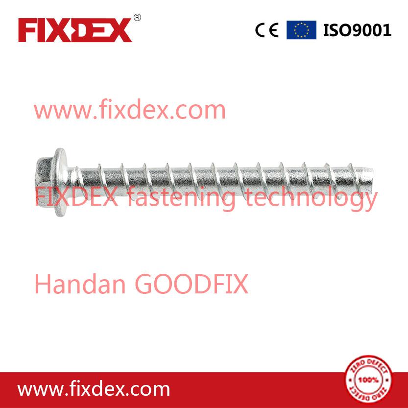Hex flange head Heavy Duty Concrete Screw Anchor