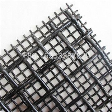 Heavy Carbon Steel Crimped Screen Mesh