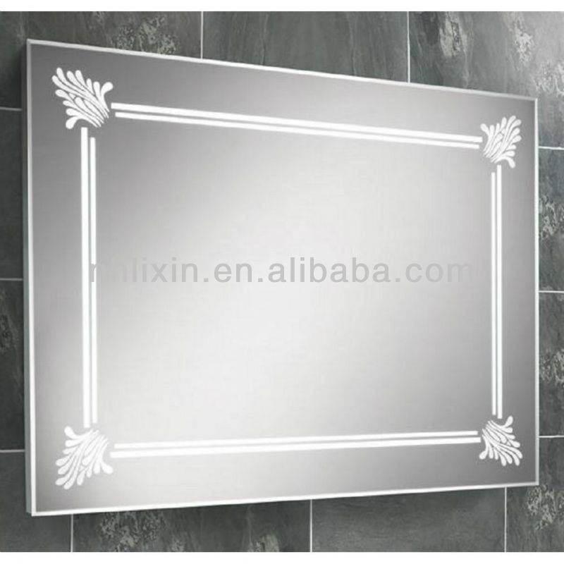 CE Approval Rectangle Beveled Mirror Tiles