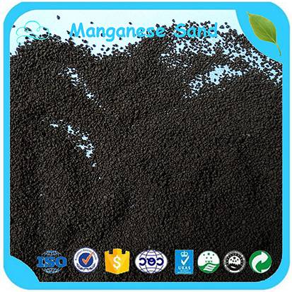 Mno2 35% Iron Removal Media Manganese Sand For Water Treatment