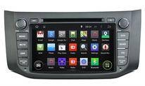 autoradio for Nissan Sentra/Sylphy 2014 2015 car dvd player with gps navigation radio bluetooth mult