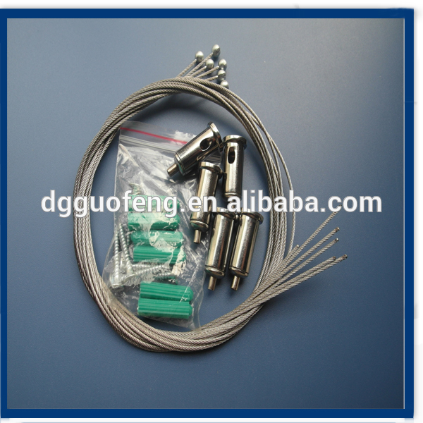 Dongguan Factory Supply LED Light's hanging Kit with Cable Gripper