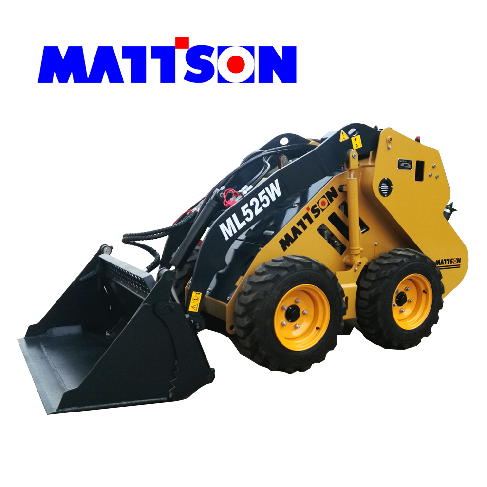 2017 Hot sale Multifunctional Mini Skid Steer Loader Small Loader ML550 with CE for sale