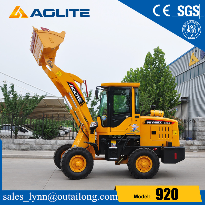 Earth Moving Equipment Small Front End Loader for Sale