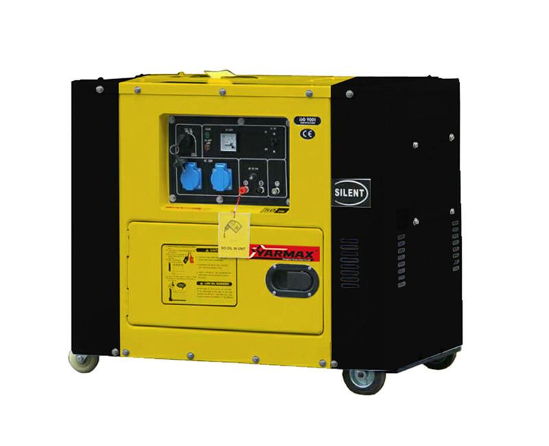 Low Noise Running 62db Diesel Generator 5kva