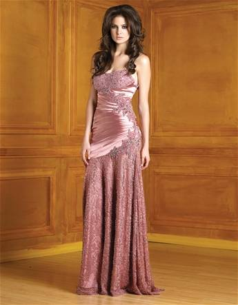 superior evening dress/evening gown