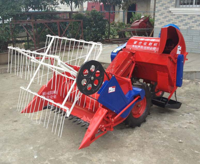 4lz-0.6 combine harvester, mini wheat harvester, rice paddy harvester