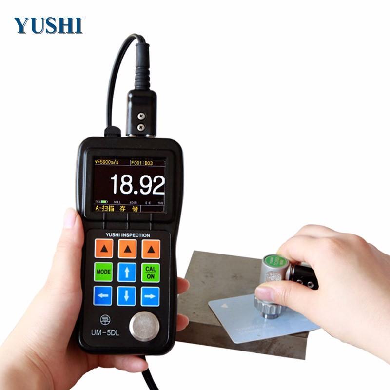 protable thickness gauge meter digital ultrasonic coating thickness gauge