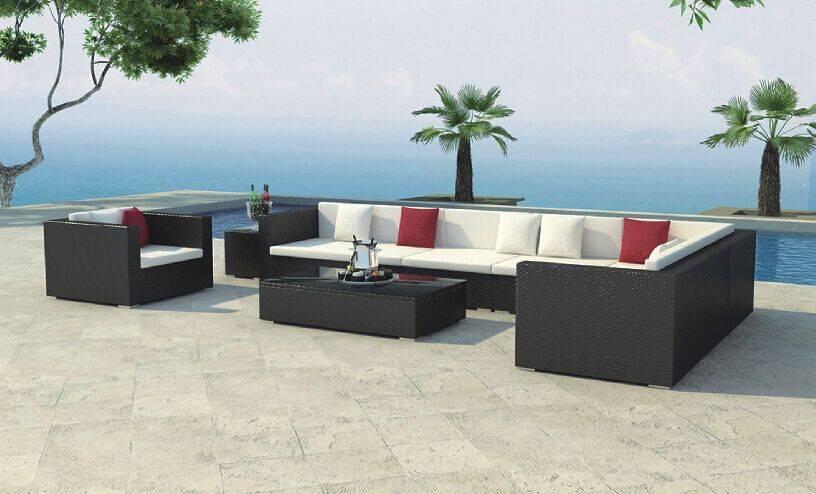 Rattan SOFA furniture with aluminum tube