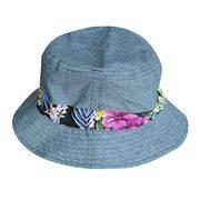 navy hat bucket hat