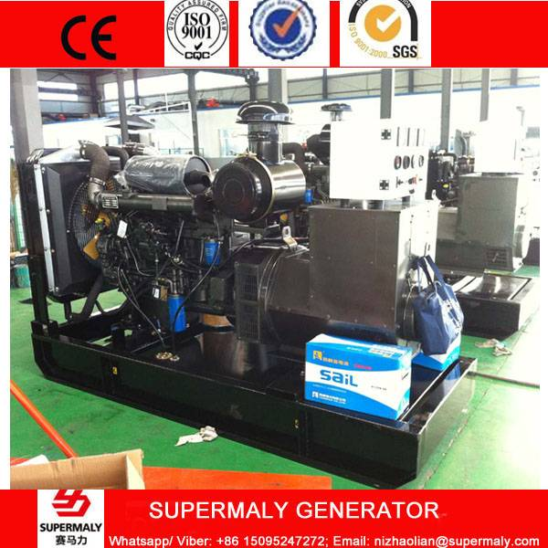 CE Approved 100KW / 120KVA Diesel Generator with Weifang Ricardo engine