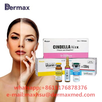 Korea Luthione cindella ascorbic acid vitamin c skin whitening injection for iv injection