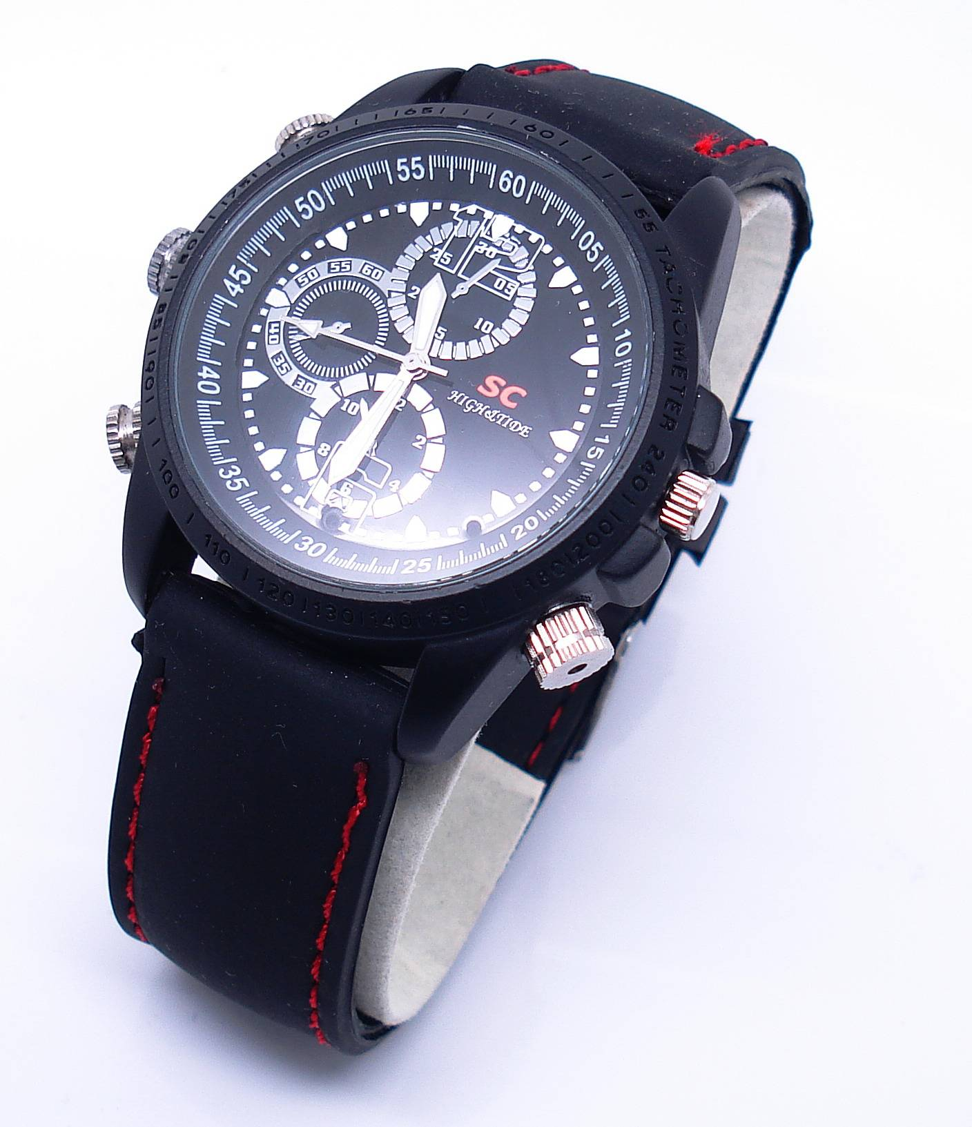 waterproof spy watch hidden pinhole camera sports spy camera watch mini DVR