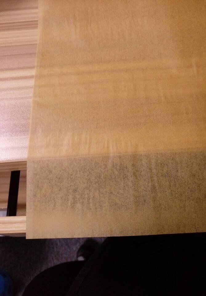 oil absorbing/slip baking paper