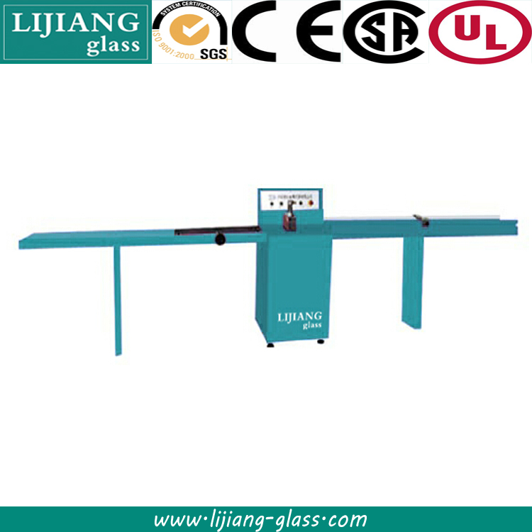 Aluminium spacer strip cutting machine