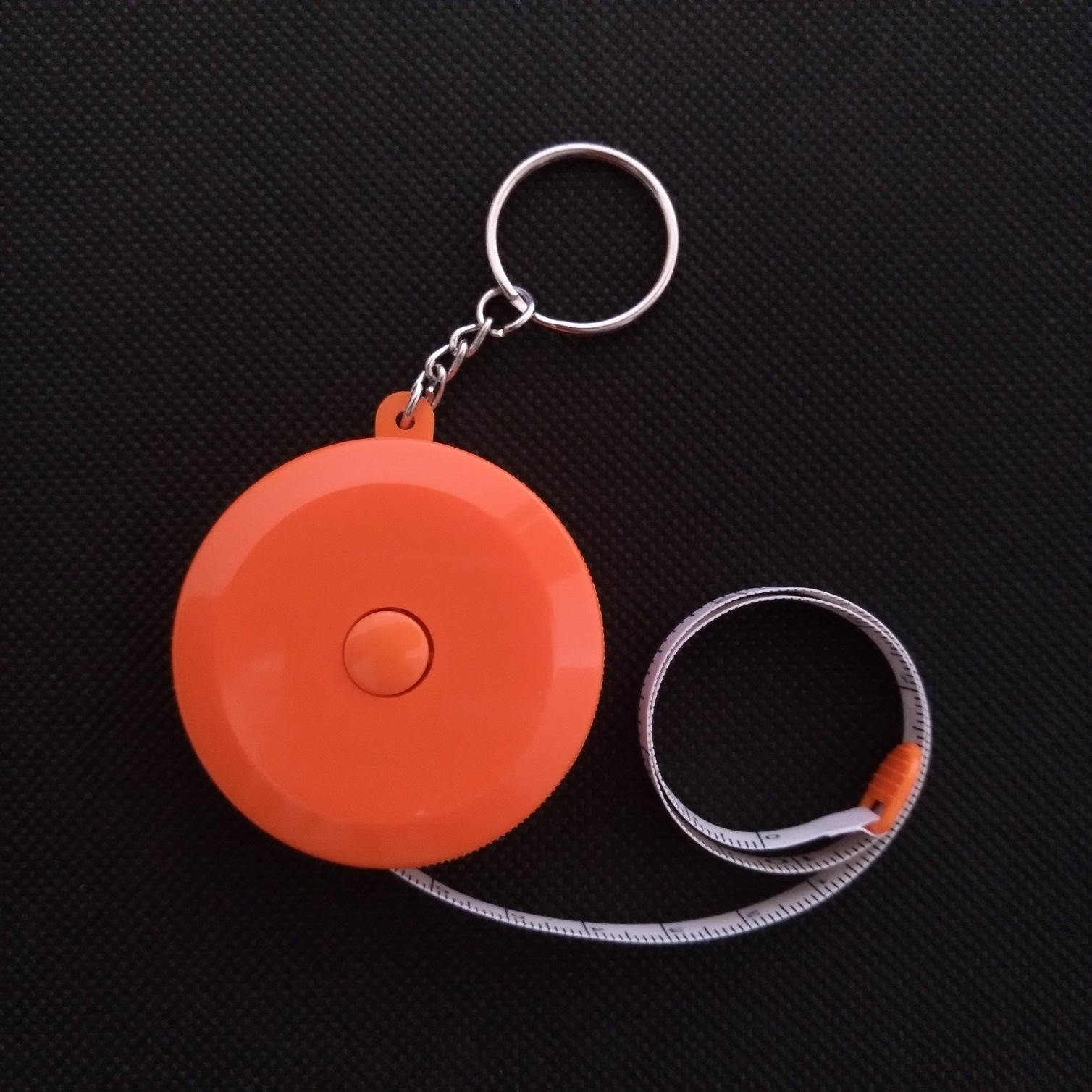 Keychain plastic tape measure for business gift