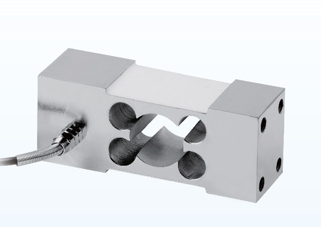 Double hole parallel beam weighing sensor