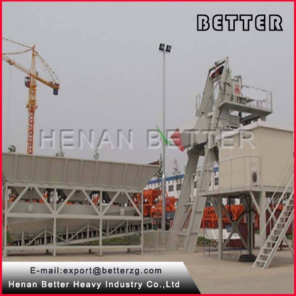 China brand HZS50 concrete mixing plant on sale