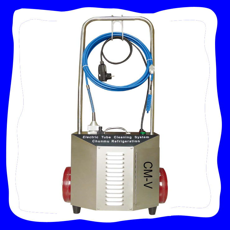 nanjing CM-V trolley condenser/heat exchanger tube cleaner at factory price