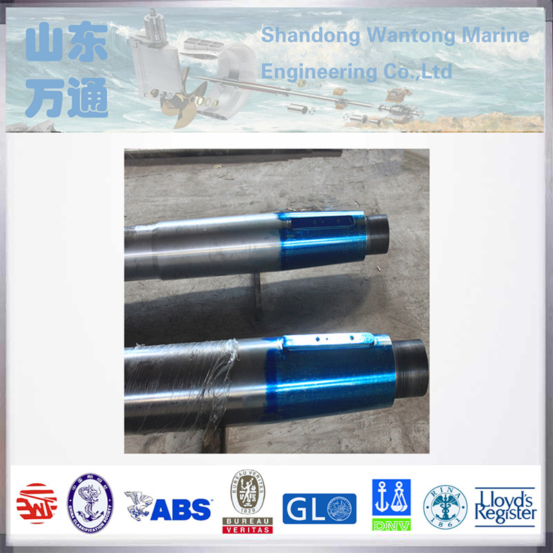 Marine forged steel propeller shaft/ tail shaft driving for sale