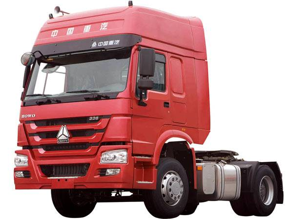 HOWO 4X2 Tractor Truck with High Cab 336 HP