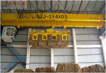 All the straw garbage power generation special grab crane